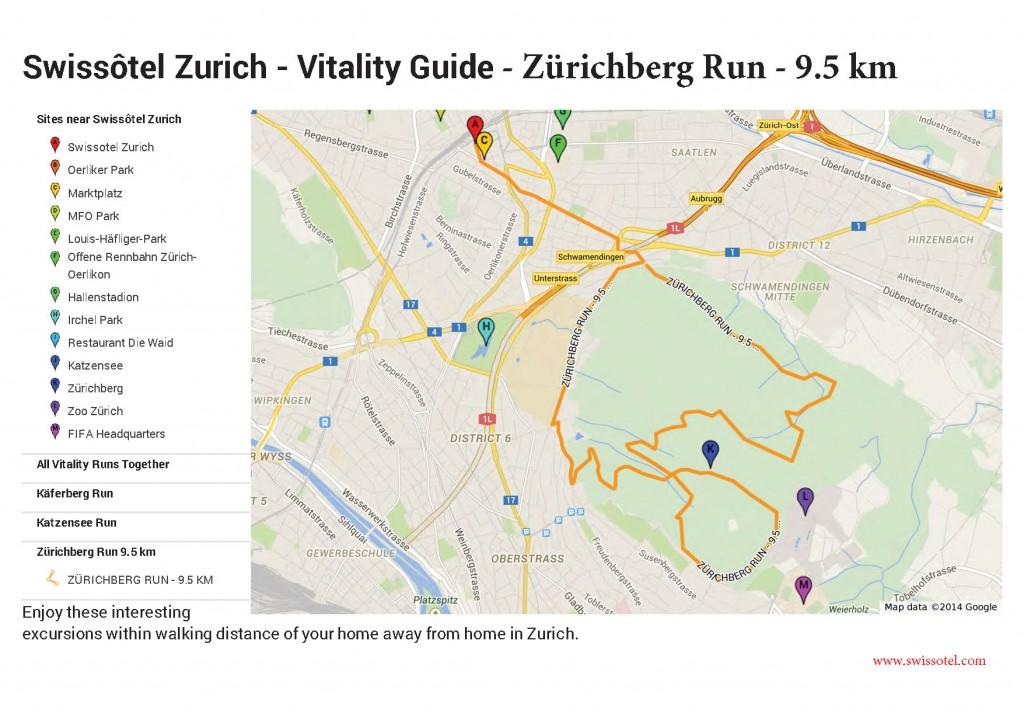 Swissôtel Zurich - Vitality Guide - Zurichberg Run v1